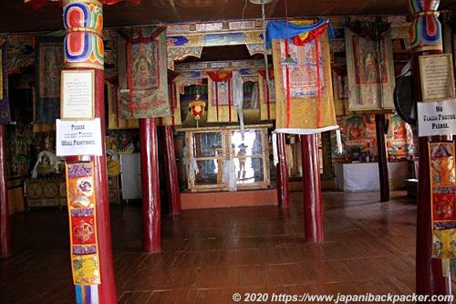 リキルゴンパ 博物館