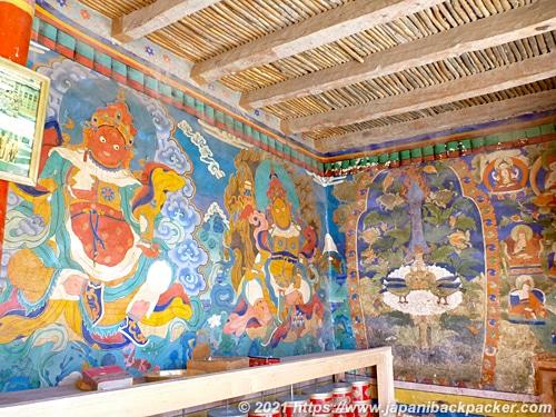 ランドゥム・ゴンパ 壁画