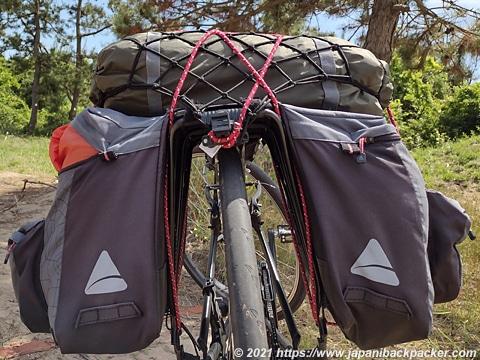 自転車キャンプ 道具